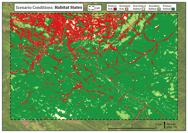 Habitat States with new footprint