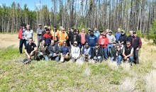 Group photo from the 2016 MPB Field Tour