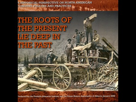 The roots of the present lie deep in the past: a historical perspective on north american forestry policies and practices