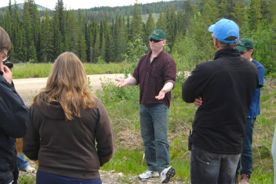 Dave Andison on a 2008 field tour.
