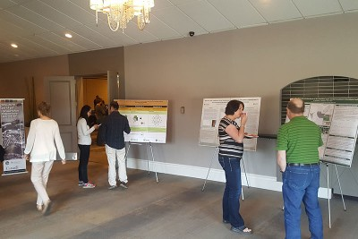 Eight posters were on display for attendees to peruse during breaks. Many thanks to the authors for bringing them along!